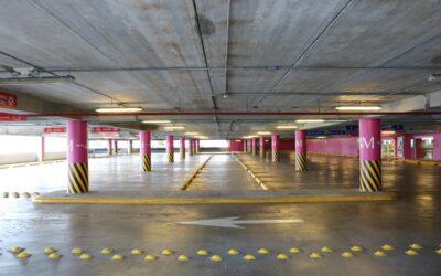 Plazas de garaje, instalación de argollas de seguridad en la superficie de la plaza.